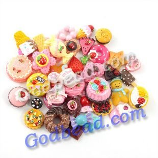 preety500 pcs  a lot Hotsale nice popular  kawaii flatback resin cute cabochons for DIY   phone hair pin  hair clips  decoration