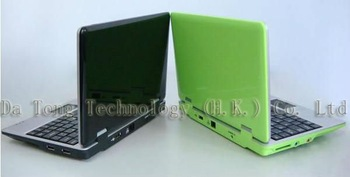 New arrival  7 inch laptop Android 4.1 VIA8850 512M/4GB  Wifi + Webcam mini Netbook with Russian keyboard+FREE SHIP