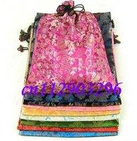 Free shipping Wholesale 10pcs satin-covered shoe bag,gift bag, drawstring bag dustbag