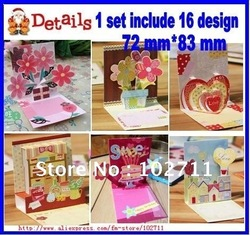Free Shipping via DHL/UPS/EMS ,160pcs in one set,16 designs Hollow Greeting Cards,Birthday Cards,Gift Cards,Chritmas X'mas Card(China (Mainland))
