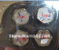 free shipping 50pcs/lot tire valve caps stem fro automotive  car, vehicle , auto