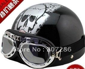 Free Shipping Hot Goggles Motorcycle Half Face Motorbike Victory Helmet/Motorcycle Racing Helmet