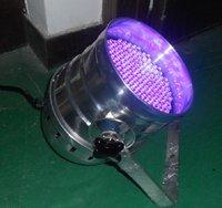 PAR64 UV light,177pcs 10mm led,15W,DMX512 compatible
