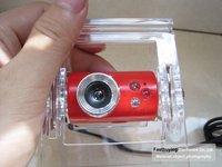 100pcs/a lot 8.0M Pixel 3 LED Plastic Clip Driveless Mini USB Webcam Camera for PC / Laptop