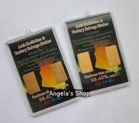 24K anti radiation phone sticker,mobile phone chip,radiation shield saving energy 30pcs/lot
