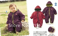 hooded kids Sweaters/red/purple Baby sweaters/Kids Coat for WINTER/Infant clothing