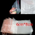 Free Shipping 500Pcs Self Sealing Zip Lock Plastic Bags 6x8cm/packaging bags(w00872)