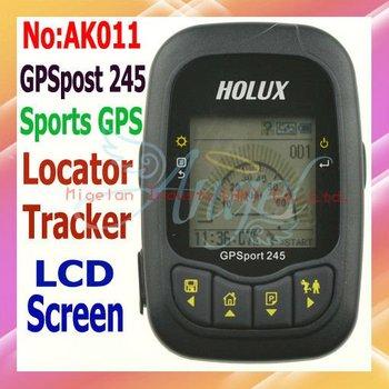 Ricevitore gps holux gpsport 245 cronometro localizzatore per corsa/a piedi in bicicletta data logger telemetro gps tracker #ak011 codice tabella