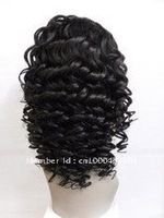 Best quality ! Free shipping ,In stock fashion16inch full lace wig