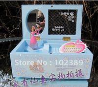 Music Box Music Box ballet dancing ballet rotating Ferris wheel rotating music box gifts to share