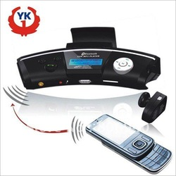 YK168D Steering Wheel Bluetooth Handsfree Car Kit with MP3 Player and FM Transmitter Free shipping(China (Mainland))