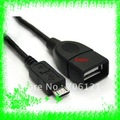 Free Shipping+ 10cm Micro USB Host Cable for Nokia N810 OTG on the go N 810