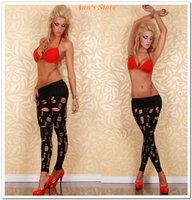Женские носки и Колготки and retail Ladies's Leggings, Fashion Leggings, One size fits S/M/L, NA7854, Black