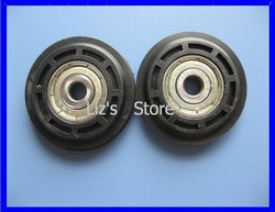 [L-640N] N-608ZZ bearing plastic wheels(China (Mainland))