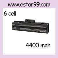6 CELL  New Li-lon Battery for Sony VGP-BPS13 VGP-BPS21