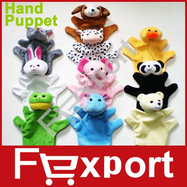 Animal Finger Puppet Elephant Rabbit