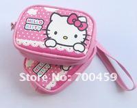 60pcs Hello Kitty purse cell phone pouches camera bag purse Free Shipping