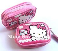 12pcs Hello Kitty purse cell phone pouches camera bag purse Free Shipping