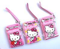 100pcs Hello Kitty Multi-purpose purse cell phone pouches purse P3/P4 bag Free Shipping
