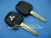 Good quality Mitsubishi 2 button remote key shell