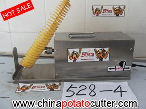 528 Potato Chips Line, Frying chips, Frier Twist Potato in Chinese Version (with counter)(China (Mainland))