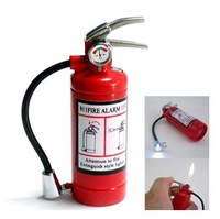 Collection Fire Extinguishers Shape LED Torch Lighter