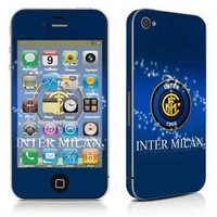 Best seling  Inter Milan blue  stripes sticker / mobile phone screen protectors