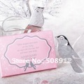 Free shipping  ! 30sets/lot love dove letter opener wedding guest letter opener wedding box gift WG012