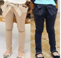 Free Shipping  Warehouse 5pcs/lot baby clothes kids wear children clothing girls pants fashion pants fashion design