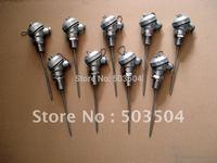 Sheathed  RTD pt100 Sensor  diameter: 6mm SS304 material Class A ,  -200-450C