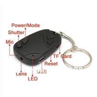 16GB #11 720P car key Hidden camera video recorder DVR H.264 Mov 30fps 1pc Free shipping !
