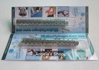 hydrogen tourmaline water ionizer alkaline ion water stick 50pcs/lot