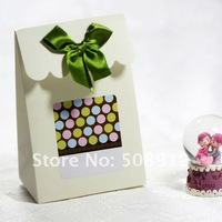 HOT PRODUCTS Free shipping to Middle East ! 150pcs/lot wedding gift box candy box cardboard box MG25-green