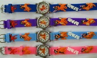 2011 New Fashion Bambi watch children watch in 10 colors 10pcs/lot