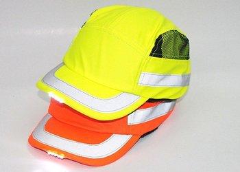 2011 Hot sale ! Free Shipping crash safety baseball cap baseball hat helmet fluorescent hat