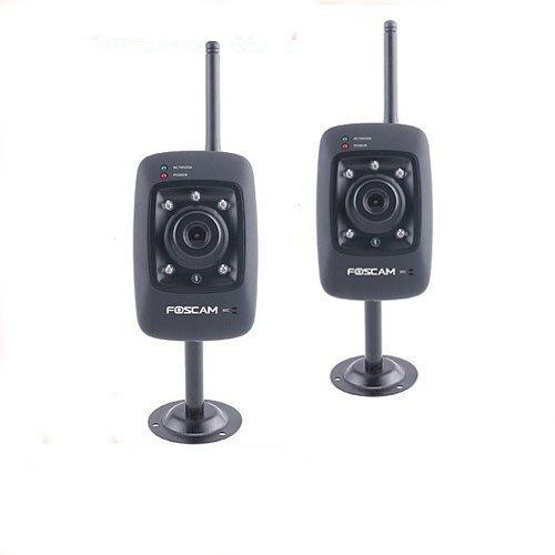 Lowest Price Wholesale 2 X Wireless Webcam Two way Audio IP Camera Free Shipping Bratz porn