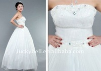 Popular Hot sale Ball Gown Beaded Wedding dress
