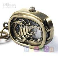 New Pretty Scorpion Key Ring Chain Pocket Watches Xmas Gift 100pcs/lot