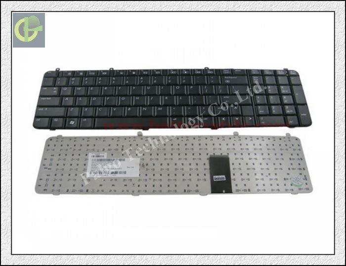 New Keyboard for HP Pavilion DV9000 DV9100 DV9200 DV9300 DV9400 DV9500 DV9600 DV9700 Black laptop keyboard US version(China (Mainland))