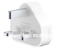 Free EXPRESS Wholesale **500pcs/lot**UK USB Power Adapter Wall Charger For Apple iPhone 4 4G 4GS 3GS