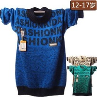 New arrival + Free shipping Children's knitted sweater ,Boy fashion winter knitwear ,Boy casual sweater