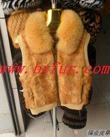 FY-MJ004 Fashion Waistcoat for Women,Mink fur vest