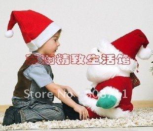 Opening-Sale-25-OFF-Kids-Christmas-Hat-Xmas-Santa-Hat-free-shipping ...