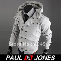 Мужская ветровка PJ Men's Stylish Slim Fit fashion jackets Coats Size XS~M CL1717