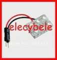 Cheapest Hot Sell 12V PCB 6 superflux LED  with T10 and Festoon base LED Dome Festoon Lincense Plate Car Lights 100pcs/lot