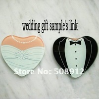 Sample free shipping !  wedding gift sample wedding favours wedding supplies S01