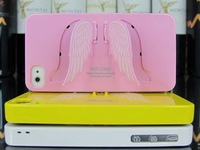 Wholesale fashion SGP Angel eagle Wing Case For iphone 4  Holder Hard Case casual cartoon Case Retail Package 5pc/Lot