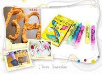 Free Shipping Wholesale 5packs/lot New Magic Korea Creative Popcorn DIY Doodle Drawing Pen Imagination Pop Corn