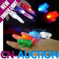FREE SHIPPING! 4 Color LED Finger Light, LED Finger Lamp, Christmas Gift Laser Finger light 100pcs/lot (CN-LFL9)