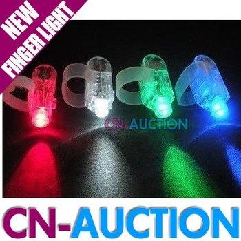 Wholesale! FREE SHIPPING!4 Colors LED Finger Light LED Finger Lamp Christmas Gift Laser Finger 300pcs/lot (CN-LFL9)